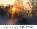 sunrise on hunting lake | Shutterstock . vector #548199643