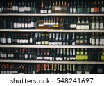 alcohol department in... | Shutterstock . vector #548241697