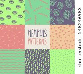 abstract seamless pattern in... | Shutterstock .eps vector #548246983