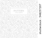 seamless geometric patterns in... | Shutterstock .eps vector #548257207