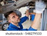 car service  repair ... | Shutterstock . vector #548279533