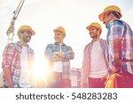 business  building  teamwork... | Shutterstock . vector #548283283