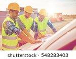 building  construction ... | Shutterstock . vector #548283403