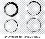 vector frames. circle for image.... | Shutterstock .eps vector #548294017