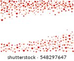valentines day background . | Shutterstock .eps vector #548297647