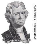 Us President Thomas Jefferson...
