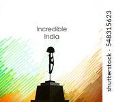 vector illustration of republic ... | Shutterstock .eps vector #548315623