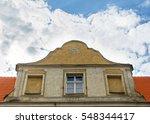 all seeing eye of god  eye of... | Shutterstock . vector #548344417