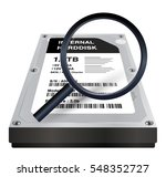 internal harddisk with a... | Shutterstock .eps vector #548352727
