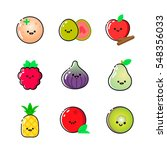 collection of icons with...   Shutterstock .eps vector #548356033
