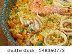 Spanish Seafood Paella De...