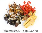 spices chinese food and herbal... | Shutterstock . vector #548366473