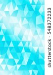 blue background of triangular... | Shutterstock . vector #548372233