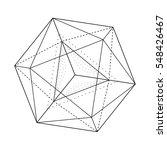 black and white vector sketch... | Shutterstock .eps vector #548426467
