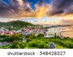 marigot  st. martin town... | Shutterstock . vector #548428327