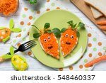 funny toasts in a shape of... | Shutterstock . vector #548460337