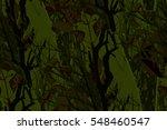 seamless pattern. woodland camo ... | Shutterstock . vector #548460547