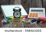 financial technology          | Shutterstock . vector #548461003