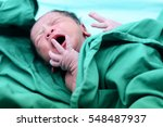 baby crying after birth in...   Shutterstock . vector #548487937