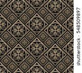 seamless pattern oriental... | Shutterstock .eps vector #548509897