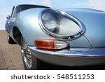 Jaguar Retro Car And Lucas...