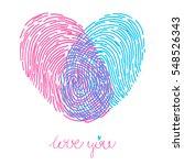valentines day design. vector...   Shutterstock .eps vector #548526343