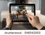 industrial 4.0   augmented... | Shutterstock . vector #548542003