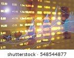 data analyzing in forex market...   Shutterstock . vector #548544877