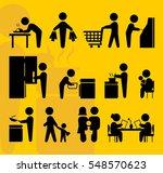 husband signs | Shutterstock .eps vector #548570623