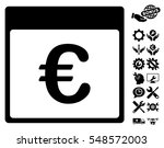 euro currency calendar page... | Shutterstock .eps vector #548572003
