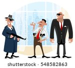vector illustration of a three... | Shutterstock .eps vector #548582863
