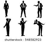 vector illustration of a six... | Shutterstock .eps vector #548582923