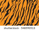 Stripe Animals Jungle Tiger Fu...