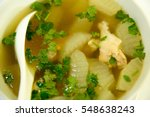 soup boil the lemon chicken... | Shutterstock . vector #548638243