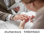 professional manicure for man... | Shutterstock . vector #548644663
