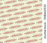 american text pattern background | Shutterstock .eps vector #548663533