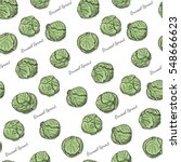 seamless color pattern with... | Shutterstock .eps vector #548666623