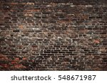 old brick wall. grunge... | Shutterstock . vector #548671987