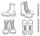vector sketch illustration  ... | Shutterstock .eps vector #548692123
