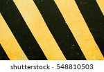 dangerous road sign. black and... | Shutterstock . vector #548810503