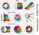 infographic business data... | Shutterstock .eps vector #548827243