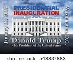 the united states presidential... | Shutterstock . vector #548832883