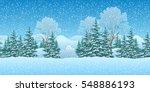 Seamless Horizontal Winter...