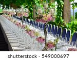 Luxury Decorated Table For...