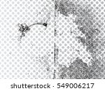 grunge transparent background . ... | Shutterstock .eps vector #549006217