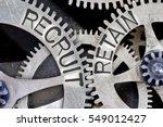 macro photo of tooth wheel... | Shutterstock . vector #549012427