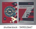 set automotive service centers... | Shutterstock .eps vector #549012667