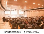 blur image the meeting room | Shutterstock . vector #549036967