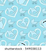Seamless Vector Pattern. Baby...