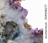 Small photo of ROCK AMETHYST CRYSTAL